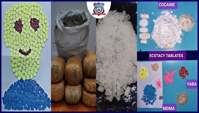 Three Nigerian nationals arrested with drugs worth over N118m in India