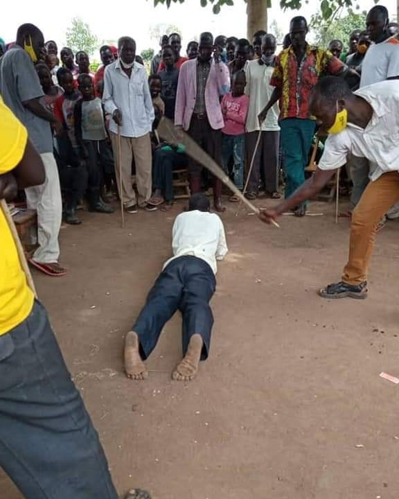 63-year-old man publicly flogged and fined one goat for attempting to sleep with his daughter-in-law