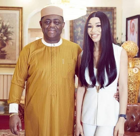 Femi Fani-Kayode shows off his lover, Chika Nerita