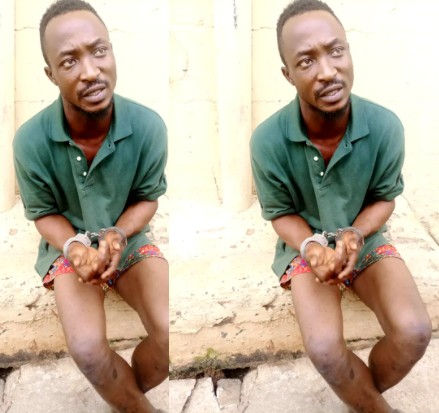 23-year-old bricklayer arrested for killing and raping his lover's corpse in Edo state