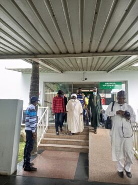First photos of Islamic Movement in Nigeria leader, Sheikh Ibrahim El-Zakzaky after being discharged and acquitted by Kaduna court