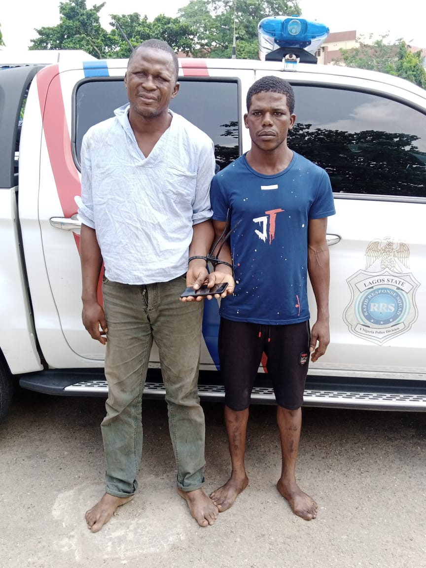 Lagos police arrest suspected armed robbers and serial phone snatchers