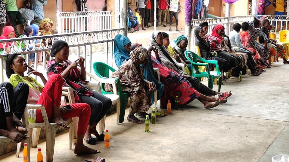 Update: Photos from the headcount of commercial sex workers in Bauchi
