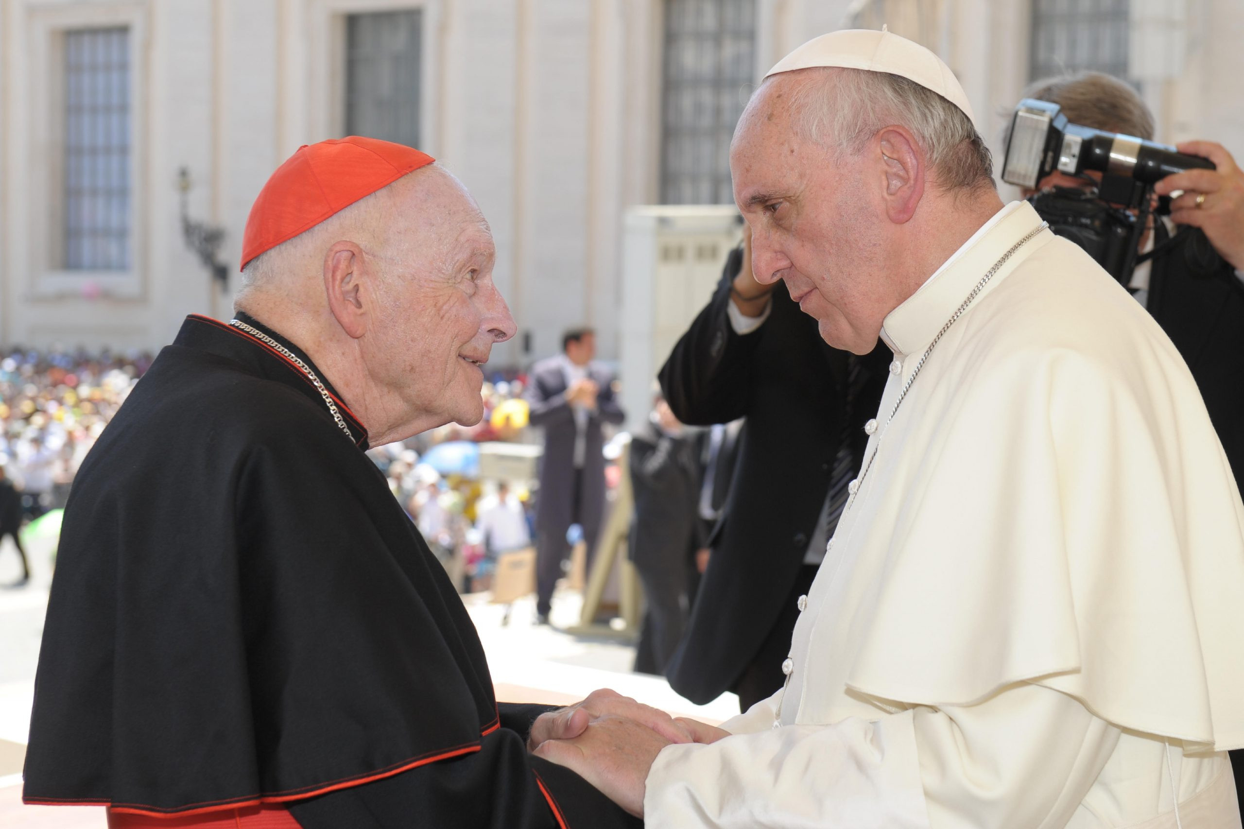 Court papers reveal former Catholic Archbishop, Theodore McCarrick?took down pants of boy, 14, held and kissed his genitalia and said prayers