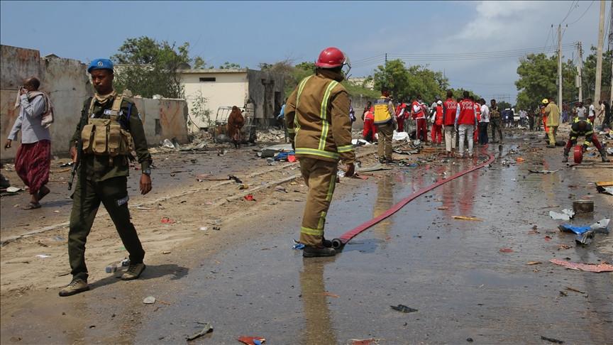 Four footballers killed in Bomb blast in Somalia (Photos)
