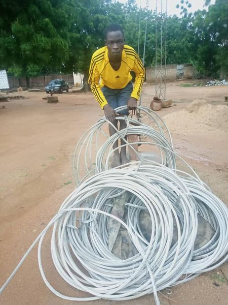 Man arrested for allegedly vandalizing, stealing cables in Adamawa