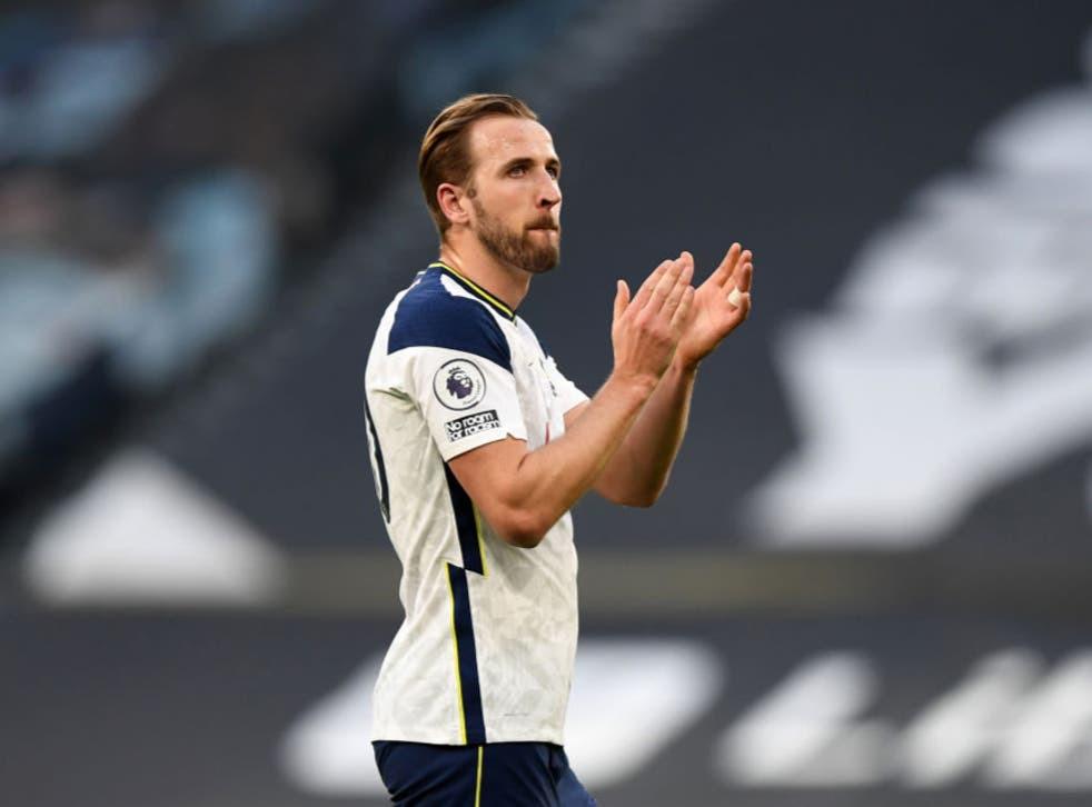 Tottenham striker Harry Kane fails to report to training in bid to force Man City transfer