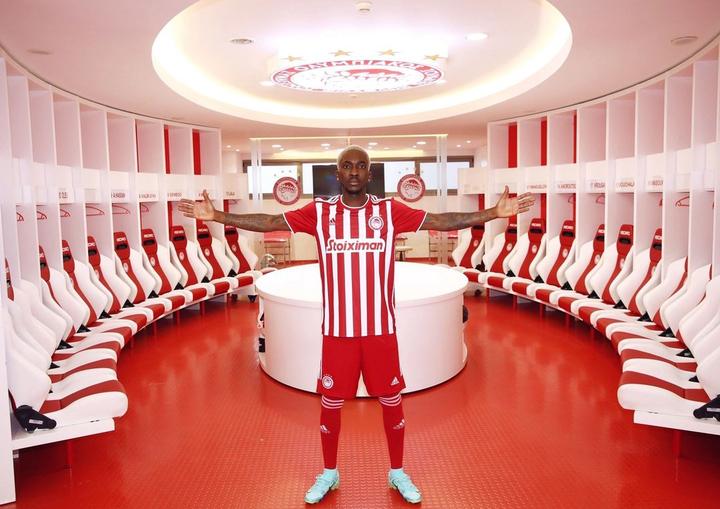 Super Eagles star, Henry Onyekuru joins Olympiakos from Monaco on 4-year deal (photos)