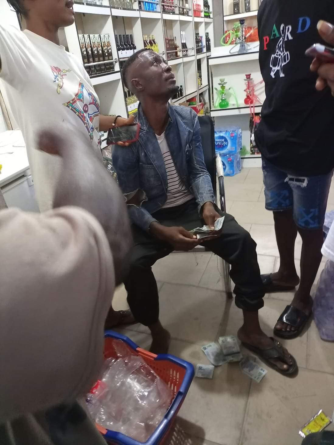 Alleged thief who specialises in stealing