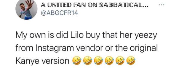 BBNaija?s Lilo replies Twitter user questioning the originality of her Yeezy sneakers with receipt