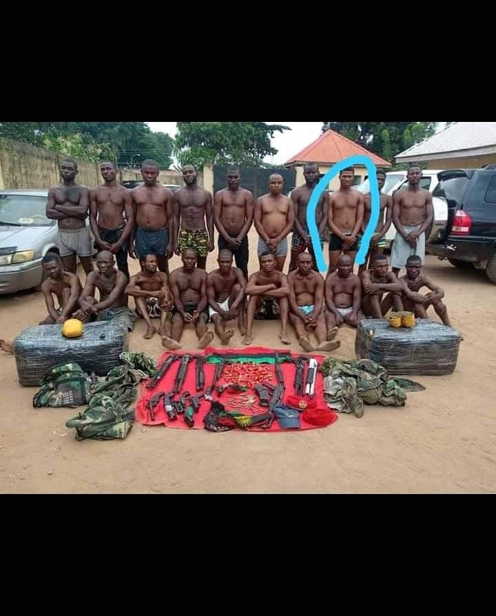 Man claims person paraded as IPOB member is his cousin who went to buy food for his sick mum after church