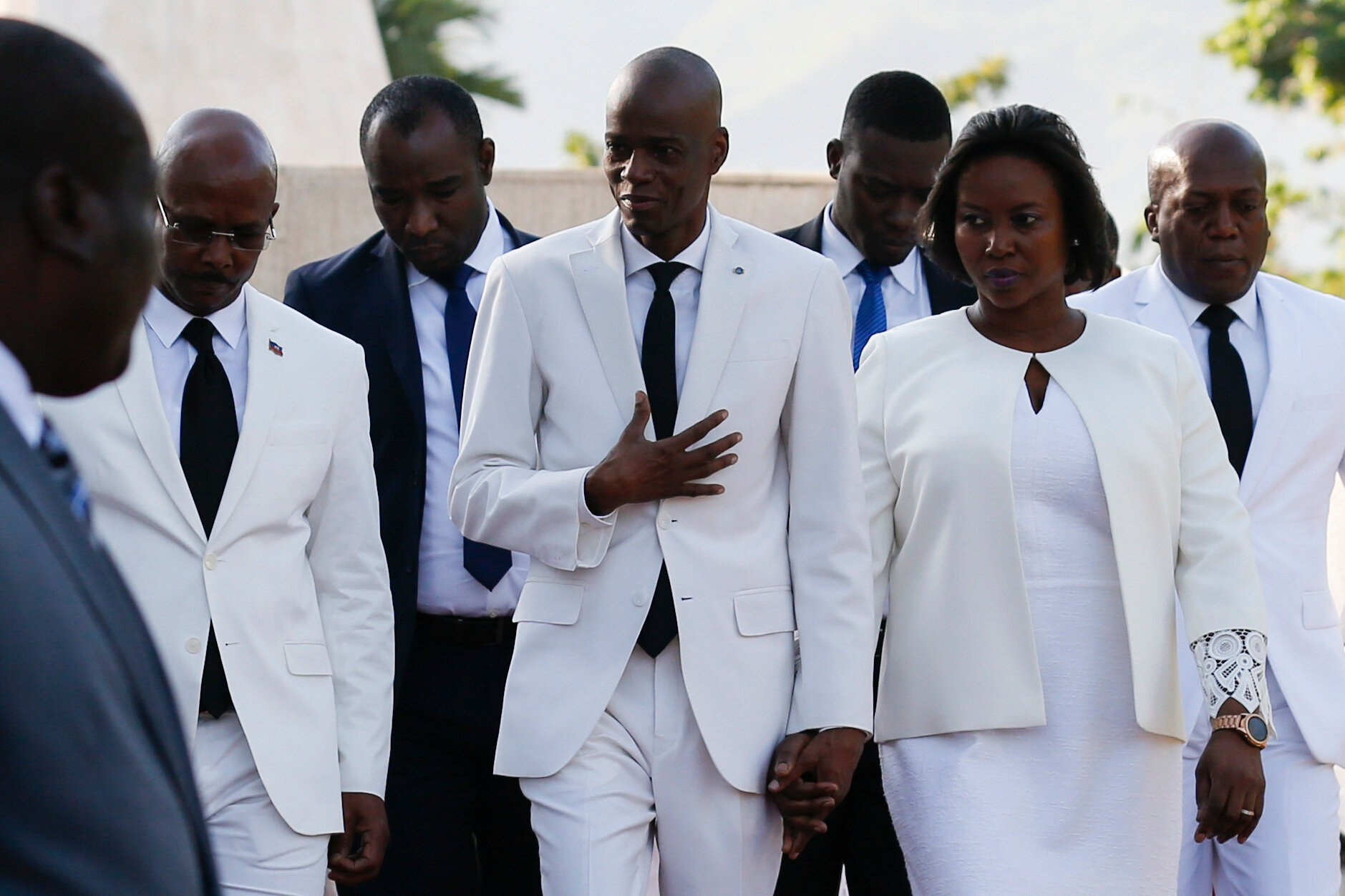 ?I don?t understand how nobody was shot,?- Haitian President?s widow questions how 30-50 bodyguards weren