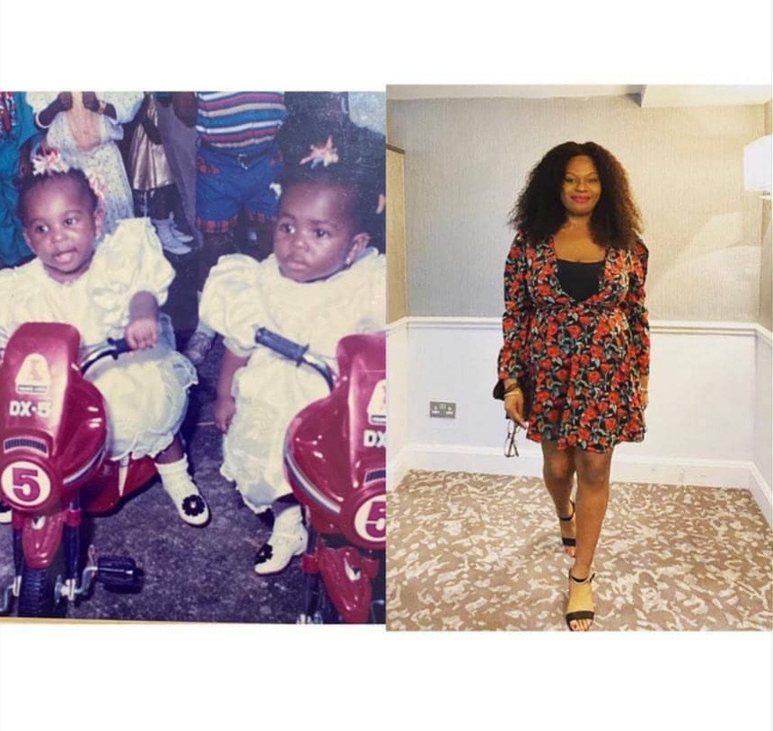 Actress Sola Sobowale celebrates her twin daughters as they turn a year older