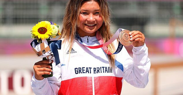 Sky Brown, 13, becomes Britain?s youngest Olympic medallist after winning bronze