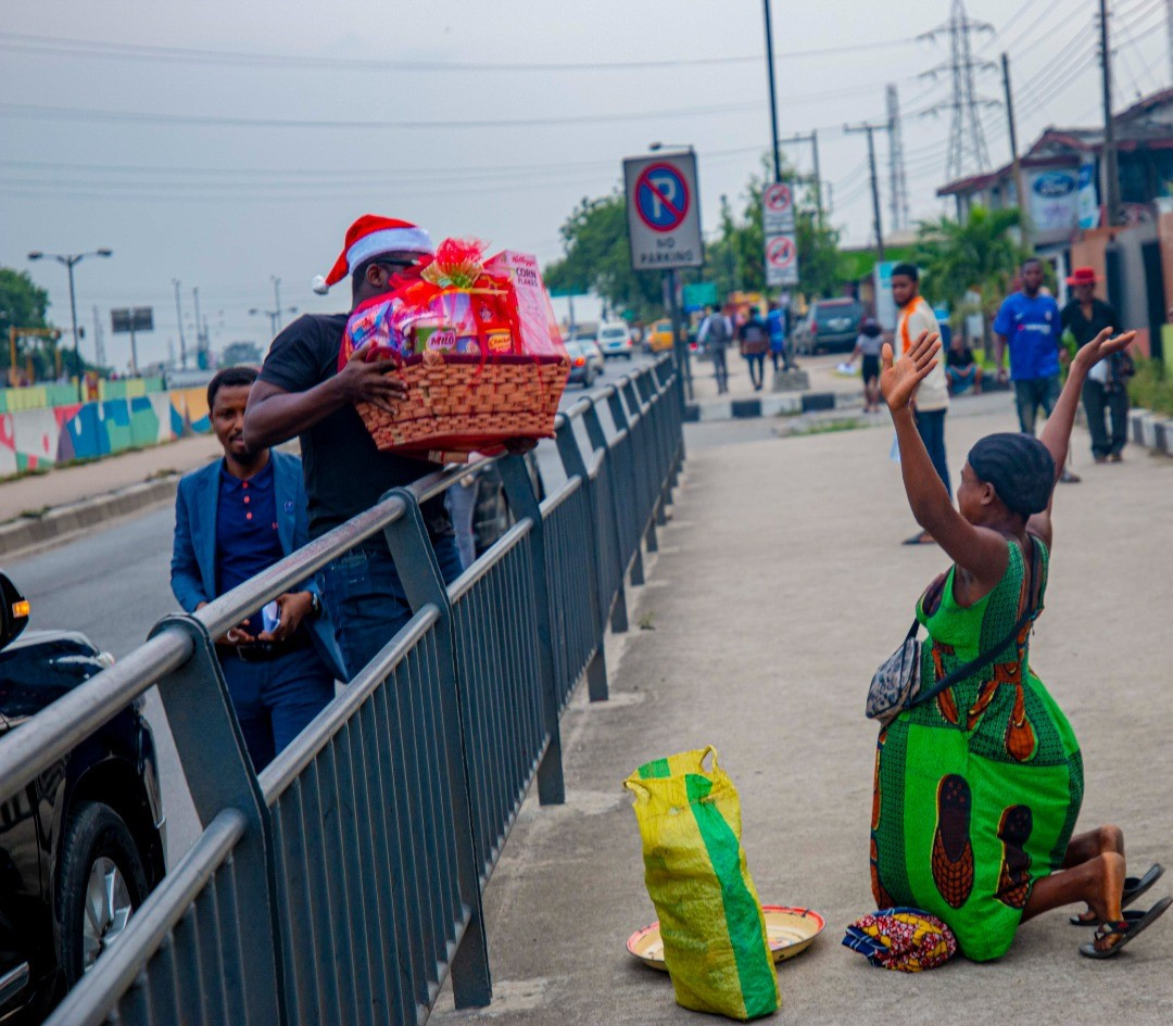 Sijibomi Ogundele rescues a pregnant hawker from the streets and sets her for a better life
