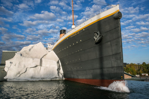 Three visitors injured after Iceberg wall at Titanic museum collapses