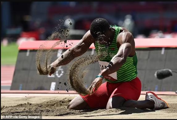 Triple jumper Hugues Fabrice Zango wins Burkina Faso?s first-ever Olympic medal (photos)