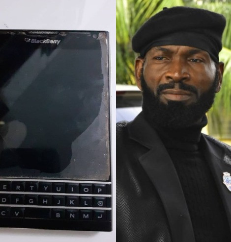 Actor Sylvester Madu reflects on the time he borrowed money to buy a Blackberry passport phone so he can