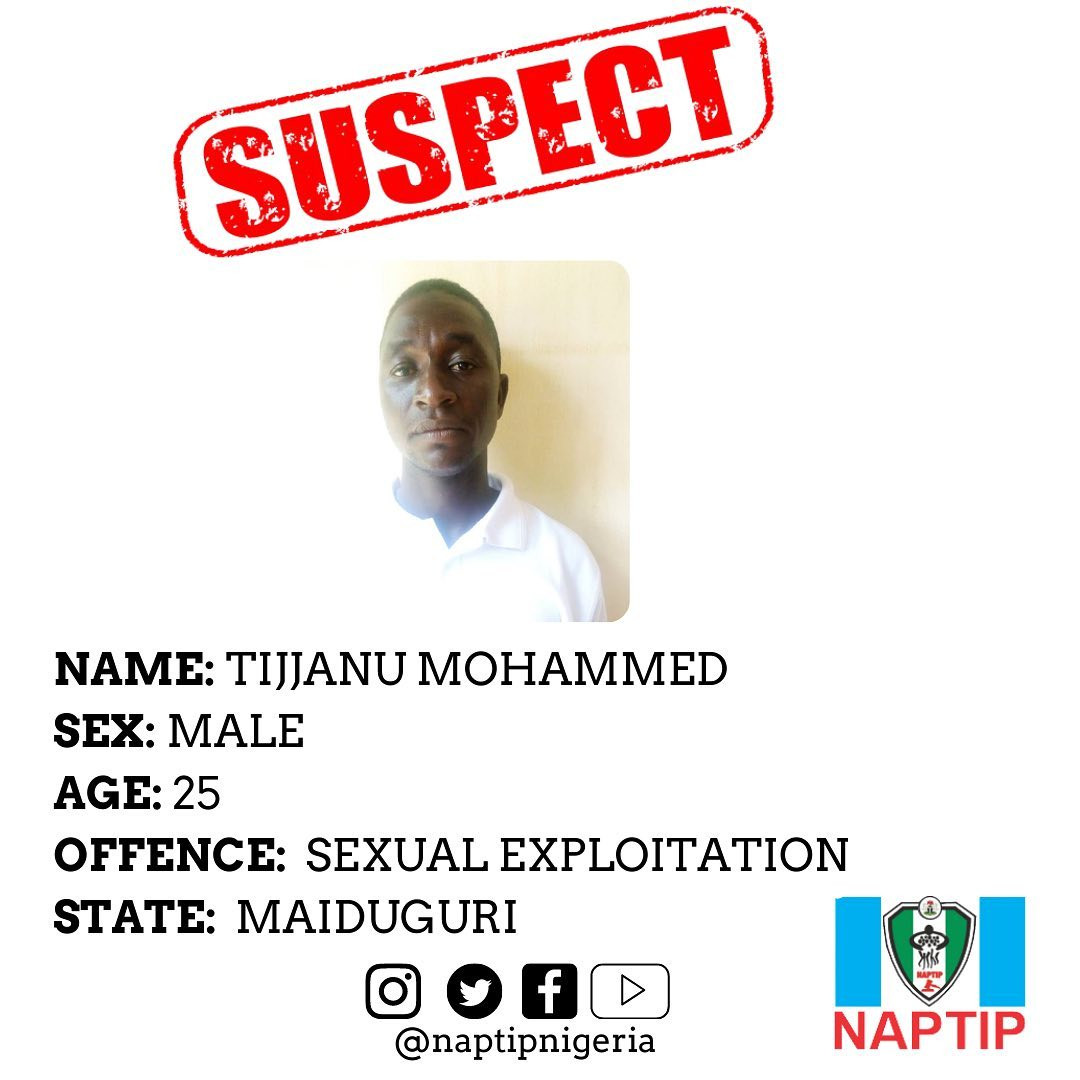 Civilian JTF member arrested for sexually exploiting and impregnating 15-year-old girl in Borno