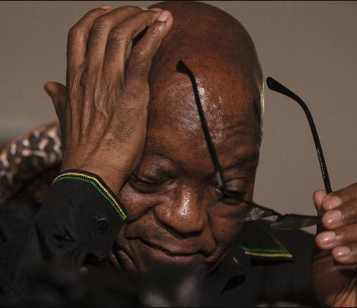 Jacob Zuma hospitalised for