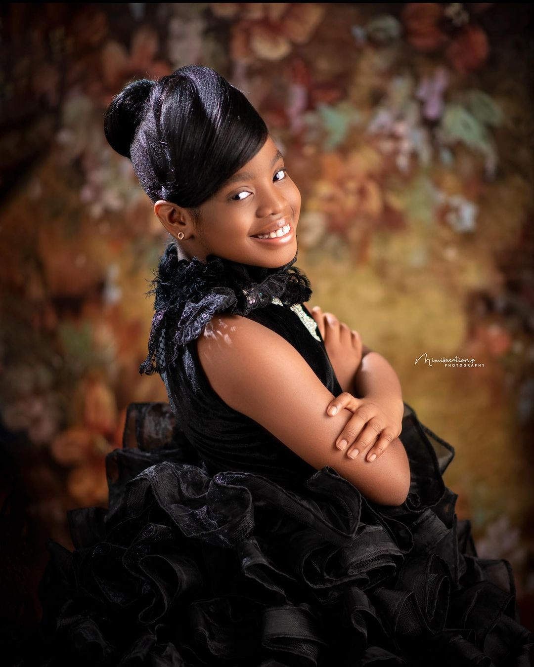 Comedian, Basketmouth and wife Elsie, share lovely photos of their daughter Janelle, as she turns 10
