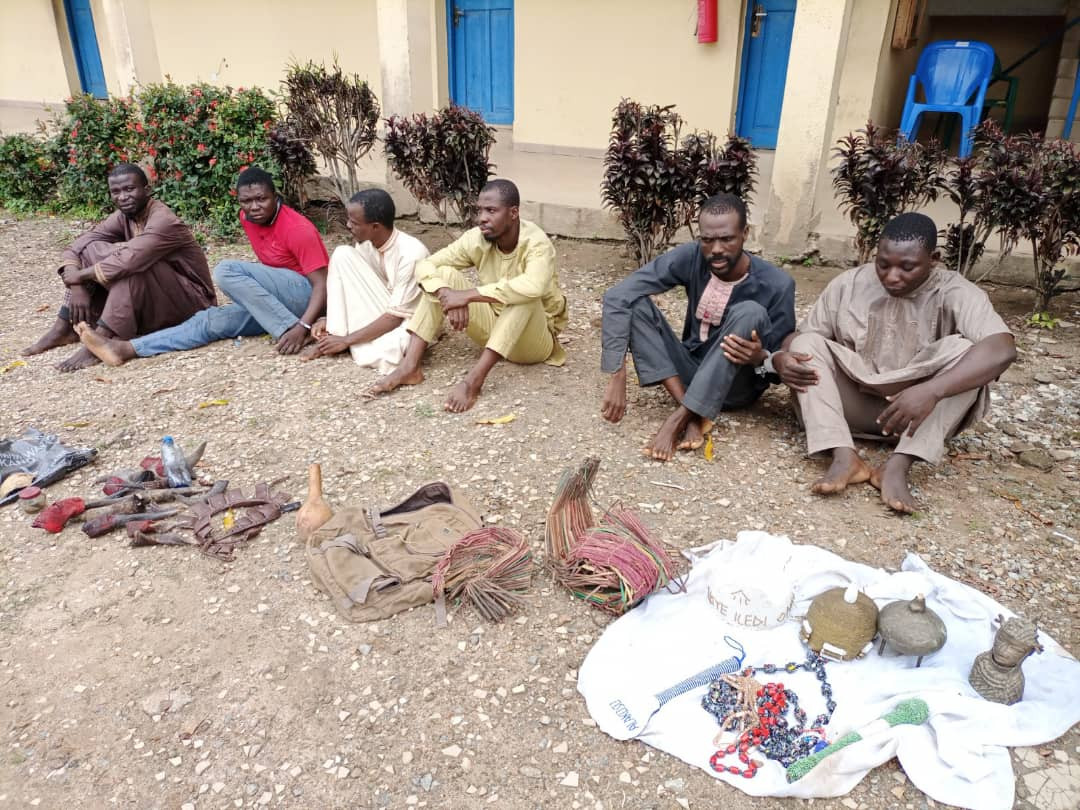 Suspected ritualists, including two siblings, arrested for killing man and selling his heart for N15,000 (photos)
