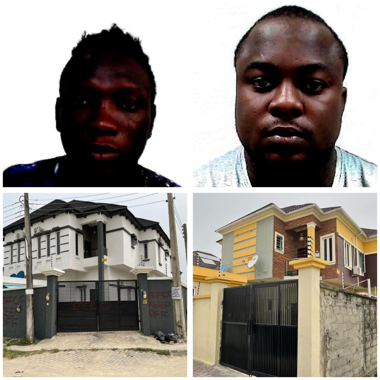 Two Nigerian fraudsters forfeit over N200m, luxury cars and properties valued at N260m to FG