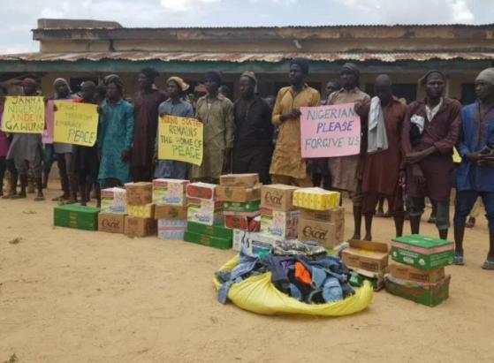 Boko Haram top commanders surrender and beg Nigerians for forgiveness