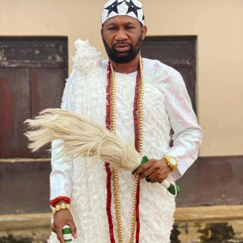 Actor, Goriola Hassan, risks arrest for parading himself as Oba of Imobi