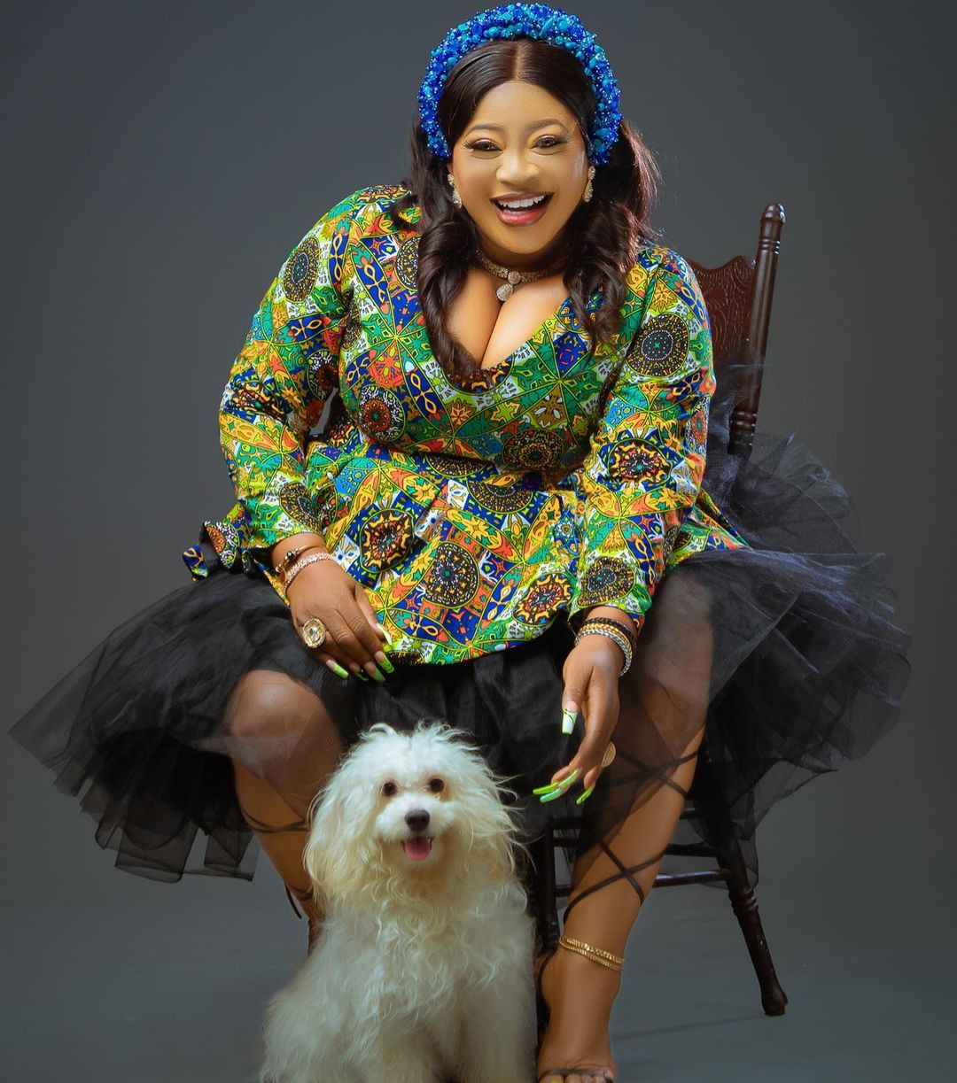 Actress Ayo Adesanya releases new photos as she turns 52