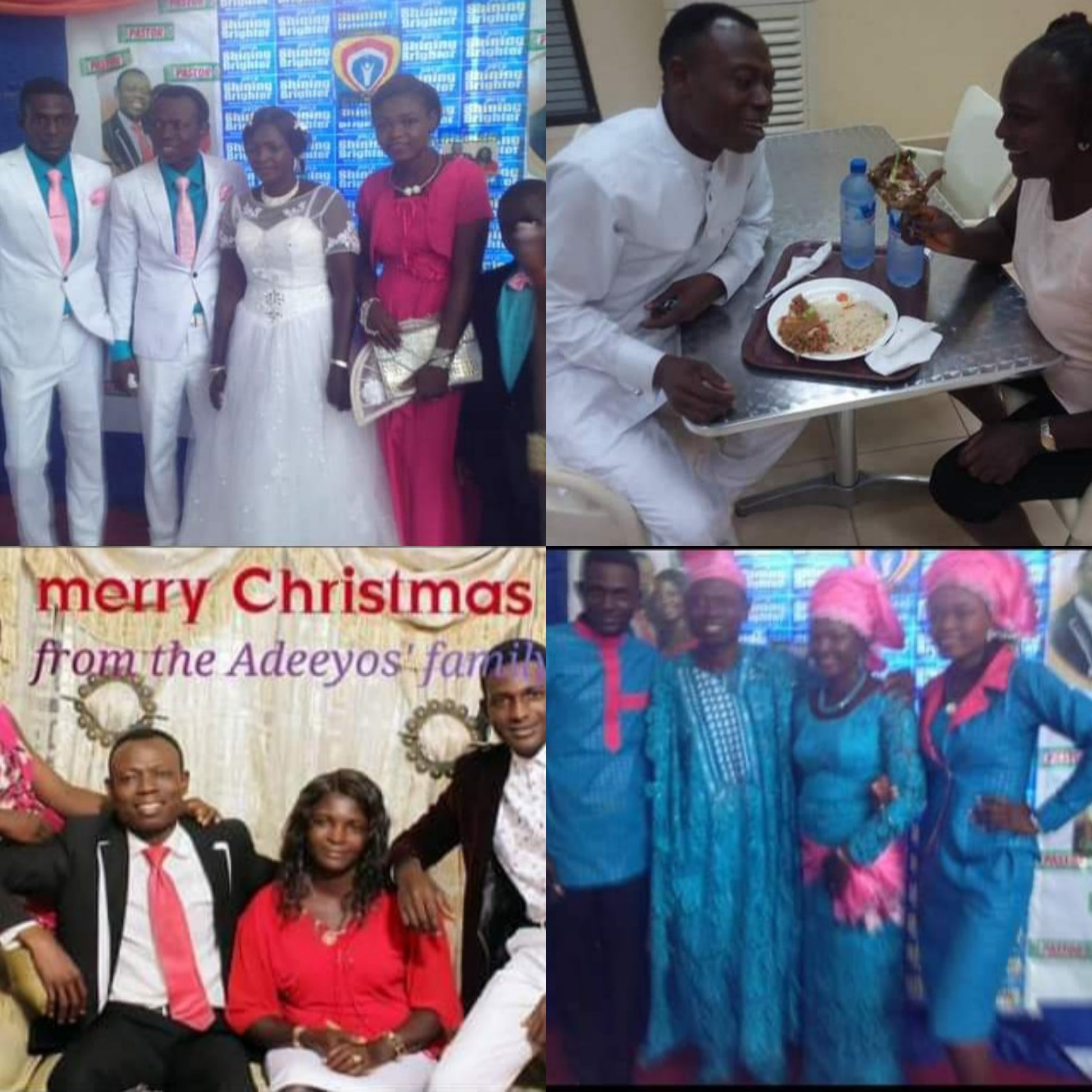 Son of pastor who married member's wife releases family photos of Pastor Moses with his first wife