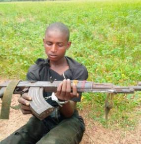 Gun-wielding herdsman arrested in Ogun (photo)