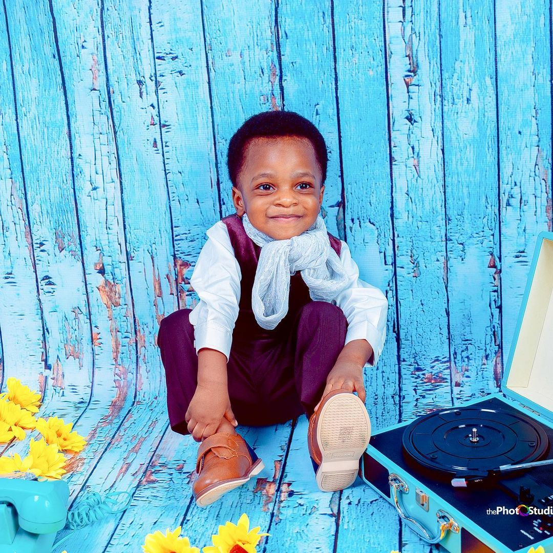Actress, Toyin Abraham-Ajeyemi, shares adorable photos of her son, Ireoluwa, as he turns two