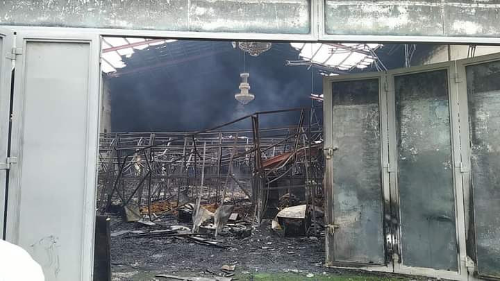 Fire razes TV station in Ogun