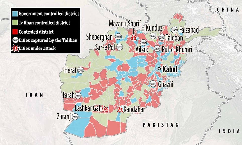 Afghanistan: Taliban captures Kandahar, country