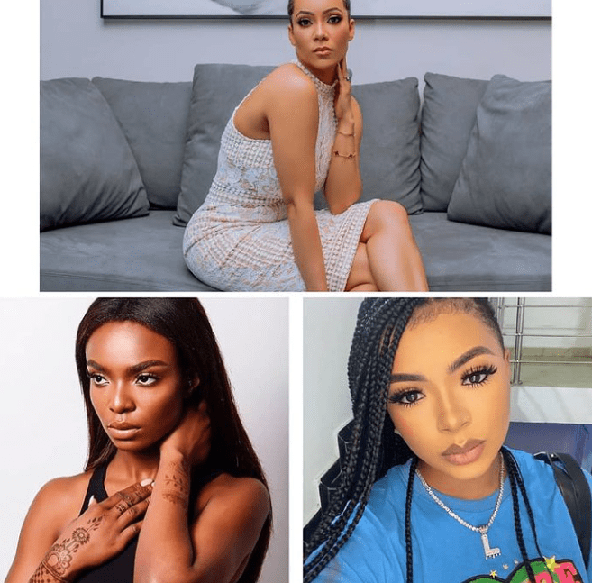 #BBNaija: Maria, Liquorose and Peace barred from Head of House lounge for two weeks