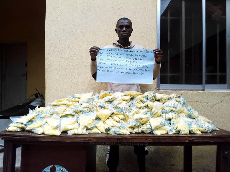 NDLEA arrests ex-military officer, fake soldier for drug trafficking