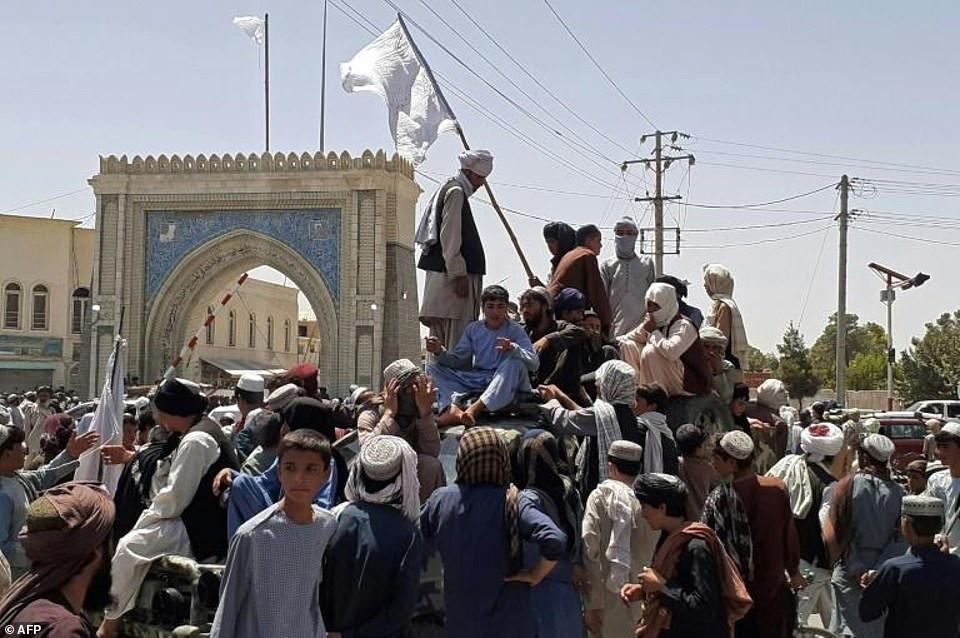 Joe Biden blames Trump for Afghanistan