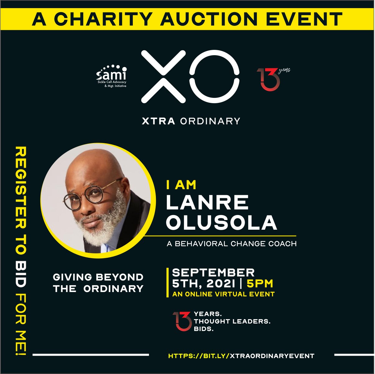 8 Top Notch Global Thought Leaders Set To Storm 2021 Xtra Ordinary Charity Auction For Sickle Cell Patients