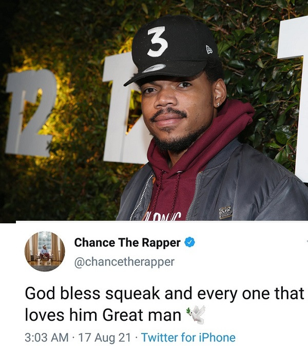 Chance the Rapper leads tributes to producer Squeak after his death at 26