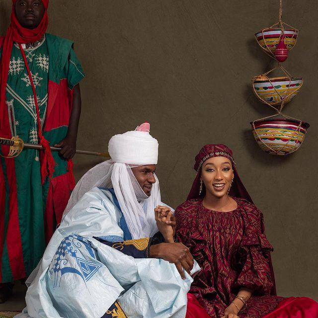 Pre-wedding photos of Princess Zahra Ado Bayero and Yusuf Buhari