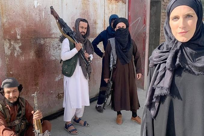 Watch Taliban threaten CNN reporter Clarissa Ward and her crew with ?pistol whip? (video)