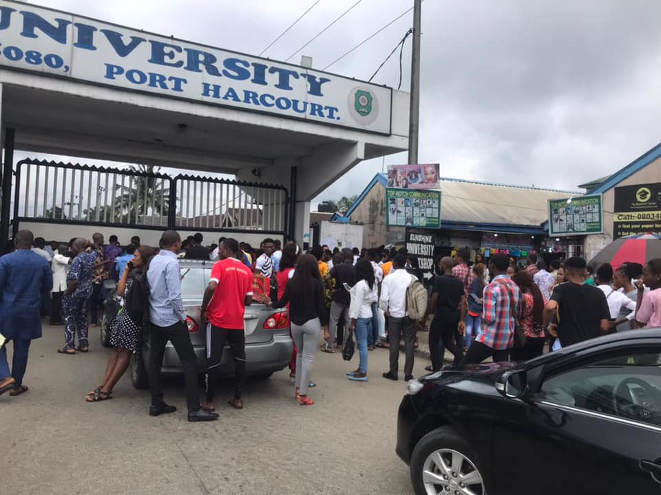 Suspected cultists shoot final year student dead at Rivers State University (graphic photo/video)