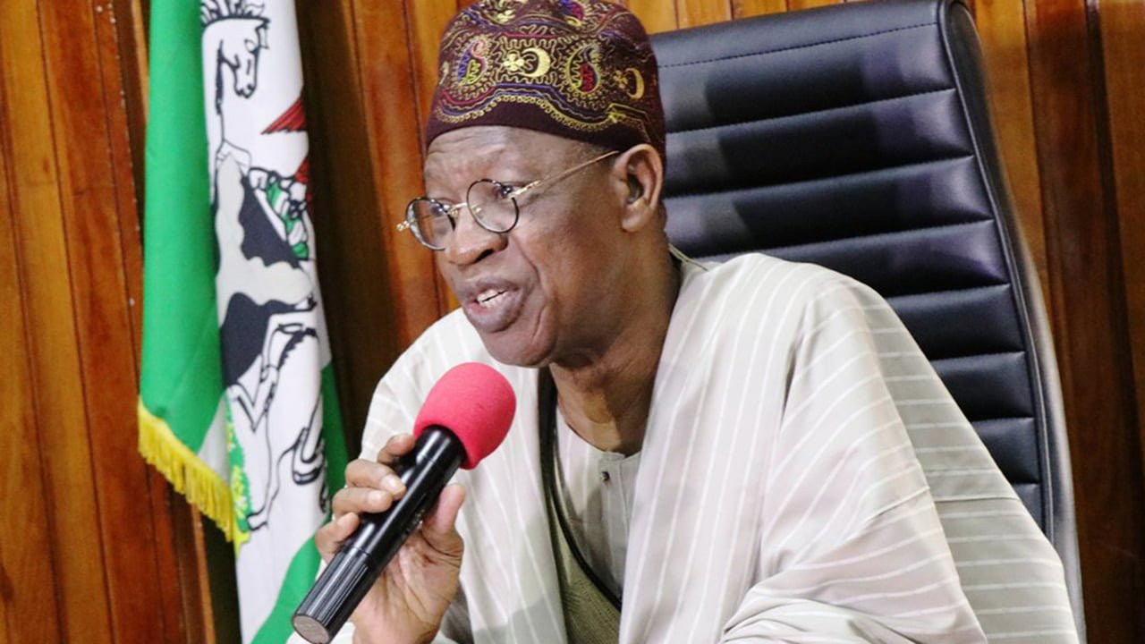 Those criticizing Buhari for seeking medical treatment abroad are out to de-market him - Lai Mohammed