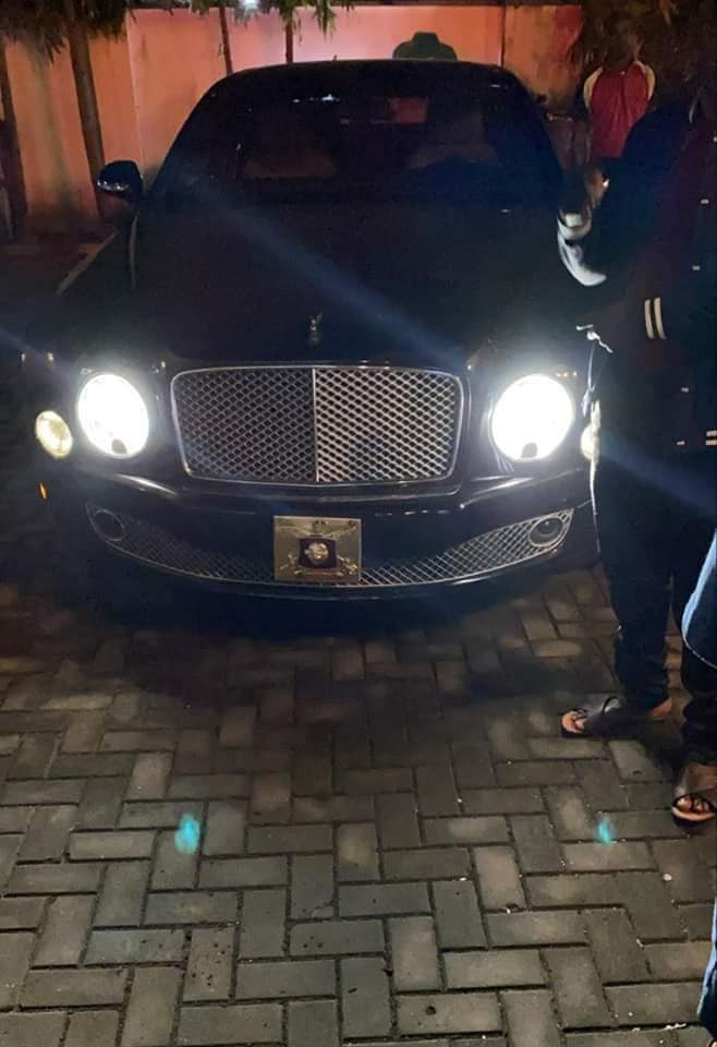 Olu of Warri designate, Tsola Emiko, gifts himself Rolls Royce, 2021 Bentley ahead of his coronation