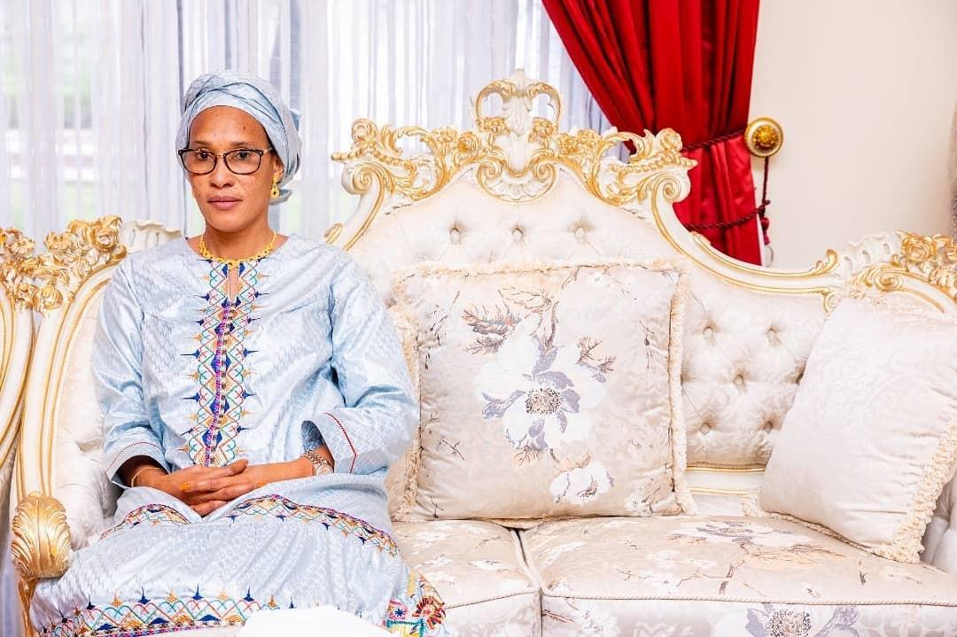 Aisha Buhari hosts Gambian first Lady (photos)