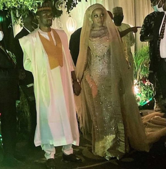 First photos and video from wedding dinner of President Buhari