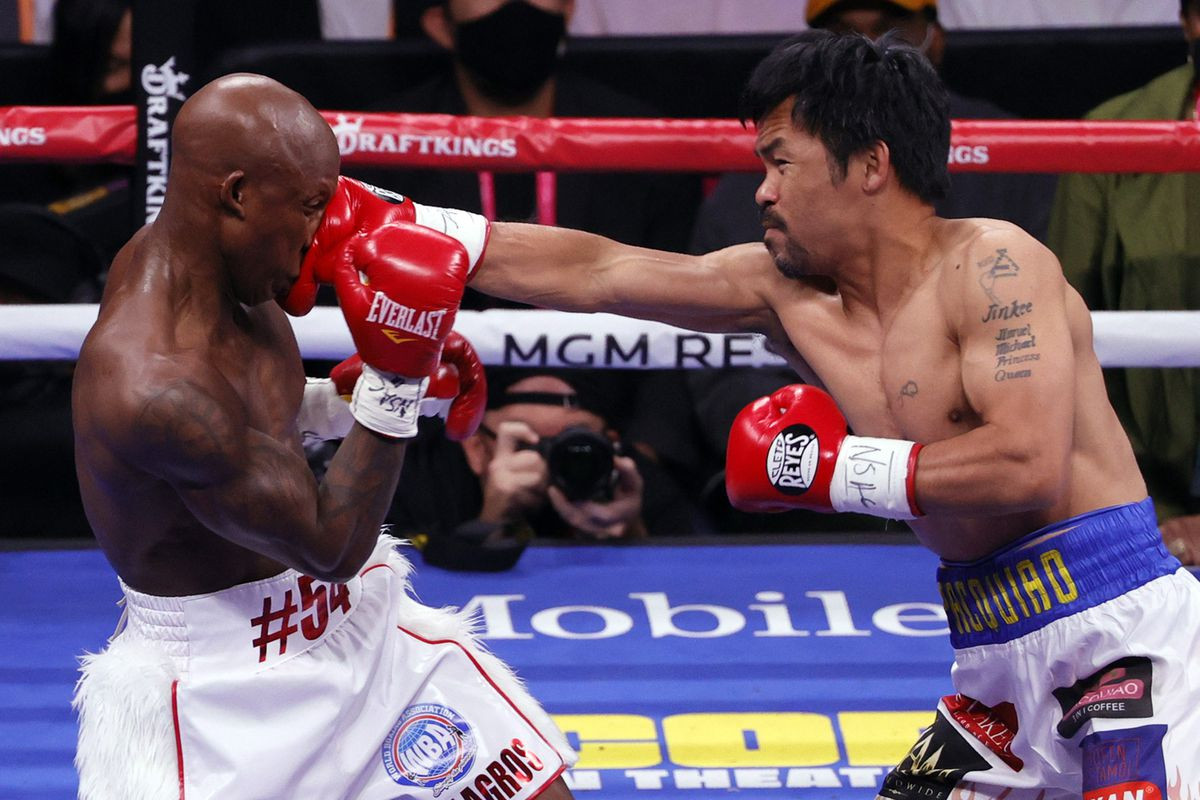 Manny Pacquiao beaten by Yordenis Ugas in his return to the ring at the age of 42