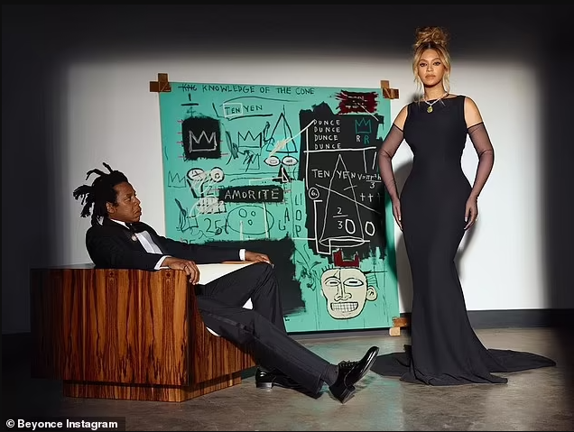 Beyonce becomes the fifth woman to ever wear the famed 128.54 carat Tiffany Diamond for new campaign with Jay-Z (photos)