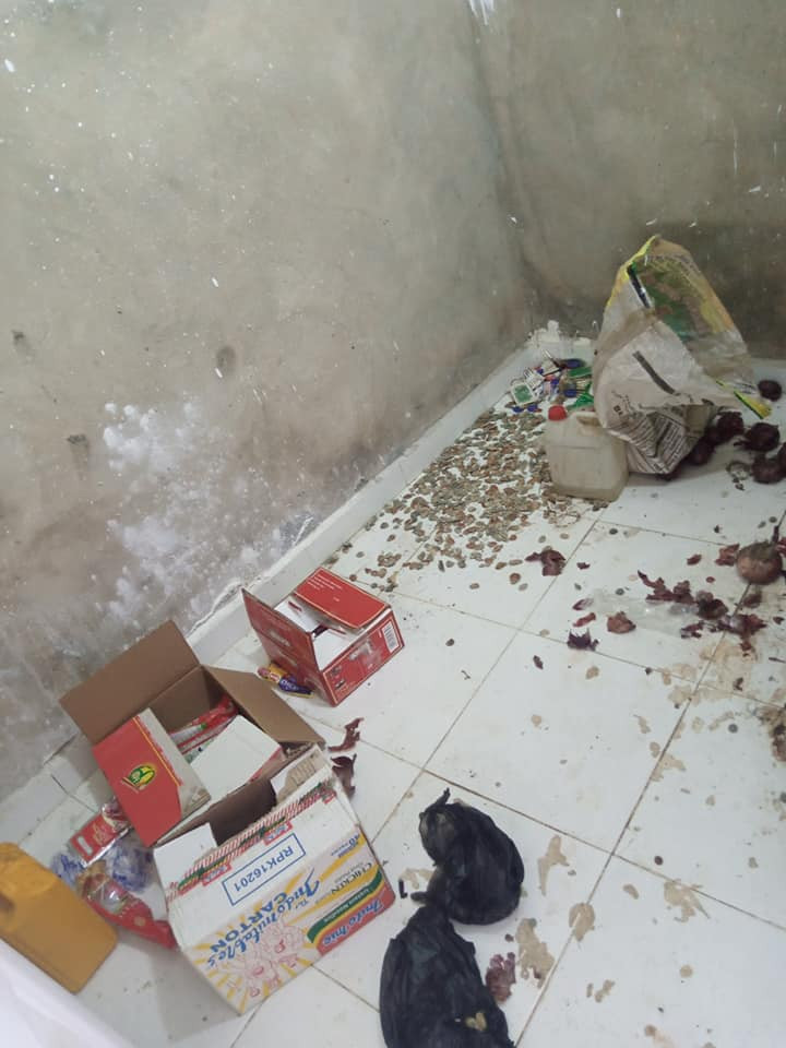 Nigerian lady shares photos of dirty house of a Benin